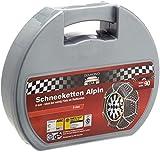 Alpin 48709 Schneeketten 9 mm, 2-er Set Größe 90, TÜV Austria/GS, ÖNORM
