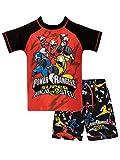 Power Rangers Jungen Ninja Steel Zweiteiliger Badeanzug Rot 134