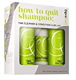 DevaCurl How to Quit Shampoo: Cleanse & Condition Curl Kit Mujeres...