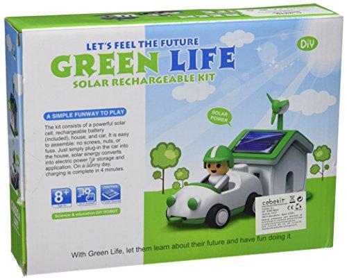 Cebekit - Kit solar Pura Vida, juguete educativo, color blanco (Fadisel C-9930)