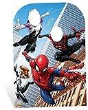 Marvel Spider-Man Web Krieger Kind Größe Party Aphrodite, Holz, Mehrfarbig, 136x 94x 136cm