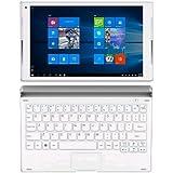 'Alcatel 8085–2calit1–1P plus tablette, écran de 10.1, RAM 2Go, hDD 32Go, clavier insérée, argent