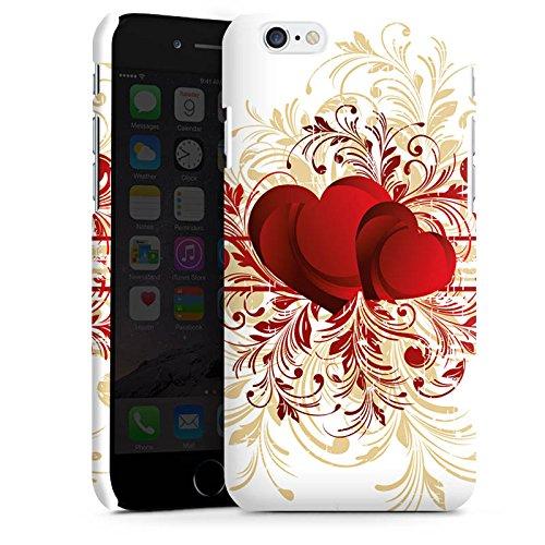 Apple iPhone X Silikon Hülle Case Schutzhülle Silent Love Muster Herz Premium Case matt