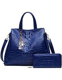 Cuero PU grandes bolsas de hombro mujer cadenas señoras Bolso Bolso Mujer Bolsos y monederos