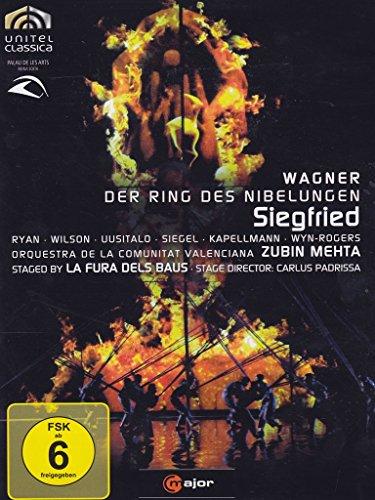 Richard Wagner: Siegfried (staged by La Fura dels Baus) - Zubin Mehta [2 DVDs]