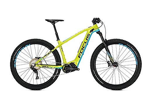 Focus Bold² 29 E-Bike 10,5Ah E-Mountainbike Magicblack grün/Blau RH 44
