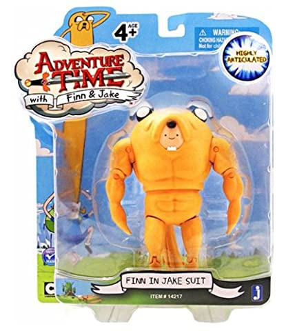 Adventure Time – Finn in Jake Suit – Figurine 12,5