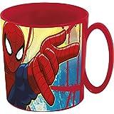 Spiderman - Taza plastico micro 350 ml (Stor 33404)