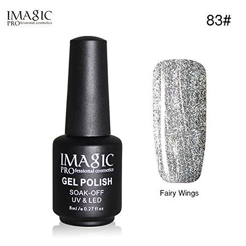 2019 Nuova black bottiglia 8ml gel smalto nail art chiodo gel polacca guidata uv gel polacco semi - permanente flessibile e brillante vernice resistente By WUDUBE