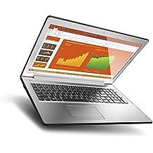 "Lenovo Ideapad 510 15.6"" Laptop, Silver (Intel Core I7-7500U, 8GB DDR4, 1TB HDD, NVIDIA GeForce 940MX, Windows 10) 80SV005AUS"