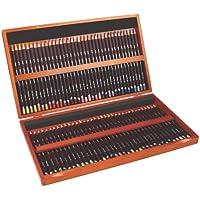 Derwent Coloursoft Colouring Pencils Wooden Box - Set of 72