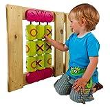 Gartenpirat OXO Spielset für Kinder Spielzeug 0X0 aus Holz für Draußen Spielturmzubehör