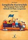 Europäische Klavierschule Band 1 - Ausgezeichnet mit dem Deutschen Musikeditionspreis 1992. - Noten/sheet music