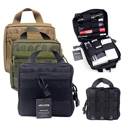 Tactical MOLLE EMT/Erste Hilfe Medic Kit Beutel Organizer Utility Gear Tasche für Rucksack (schwarz) (Erste-hilfe-kits Emt)