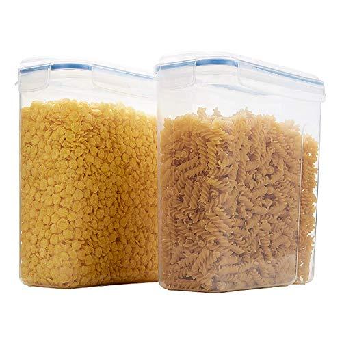 THETIS Recipiente almacenamiento cereales 2pcs- grandes
