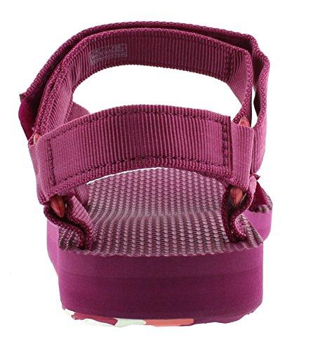 Teva Original Universal Marbled W's Damen Sport- & Outdoor Sandalen Violett (Magenta 546)