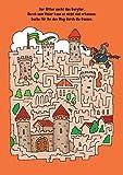 Total verrückte Labyrinthe und Suchbilder: Für Kinder ab 6 Jahren (Malbücher und -blöcke) -