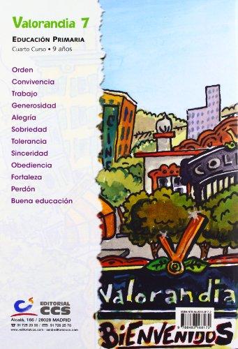 Valorandia 7: Educación Primaria - Cuarto curso - 9 años - 9788483168172