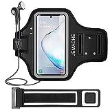 Galaxy Note 10+/9/8 Fascia Da Braccio, JEMACHE Palestra Corsa Esercizi Sweatproof Sportiva da Bracciali Armband per Samsung Galaxy Note 8/9/10 Plus (Nero)
