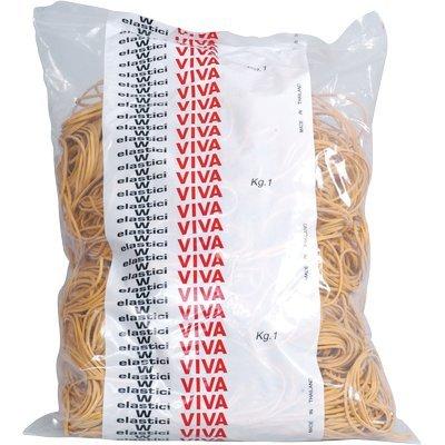 Viva e060 elastici, 60 mm, confezione 1000 [italia]