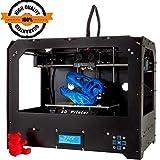 3D Drucker, CTC FDM Dual Extruder LCD-Bildschirm Desktop 3D-Drucker Pro MK8 Düse 3D-Druckmaschinen-Kit mit 1,75 mm ABS/PLA-Druckfilament (Gebäudegröße 225 × 145 × 150 mm) (FDM 3D Drucker)