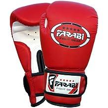 Farabi Sports - Guantes de boxeo para niños (piel sintética, 113 g),