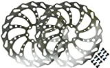 Clarks 203mm Wavey Bicycle Cycling Bike Disc Brake Rotor Size: 203mm PACK OF 2