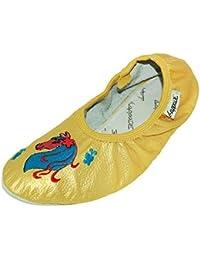 Step n Style Punjabi jutti comodidad zapatos de zapatos para mujer cómodo Zapatos Zapatos de Casual, color Rojo, talla 36 2/3