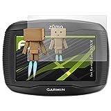 atFoliX Displayschutz für Garmin Zumo 390LM Spiegelfolie - FX-Mirror Folie mit Spiegeleffekt