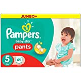 Pampers - Easy Up Couches Culottes - Taille 5 Junior - 12-18 kg - Jumbopack x 54 Couches