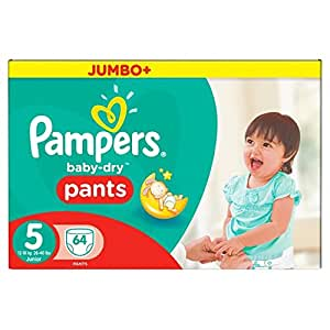 Pampers easy up couches culottes taille 5 junior 12 18 kg jumbopack x 54 couches amazon - Couches culottes pampers ...