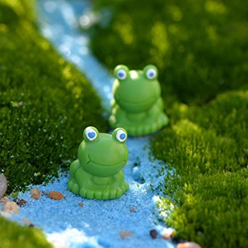 Homyl 10x Grenouille Miniature Micro Paysage Mini-dollhouse | Nombreux Dans La Variété