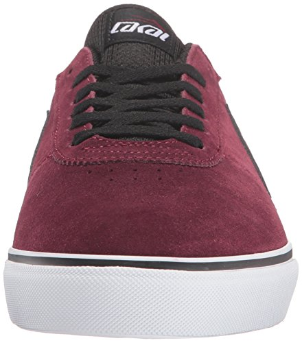 Chaussure Lakai Manchester Port Suede Rouge