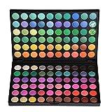 JasCherry 120 Farben Lidschatten Makeup Palette Set - Sleek Pulver Augenschatten Professional Make Up Etui Box - Satte Farben Kosmetik Eyeshadow Palette Kit #1