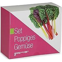 Set Poppiges Gemüse – die ausgefallene Geschenkidee: Selbst säen, züchten und ernten – bringt Farbe in die Küche!