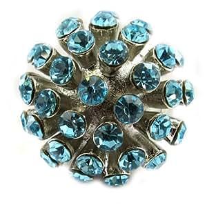 Les Trésors De Lily [E5125] - Bague 'Feu d'Artifice' Turquoise
