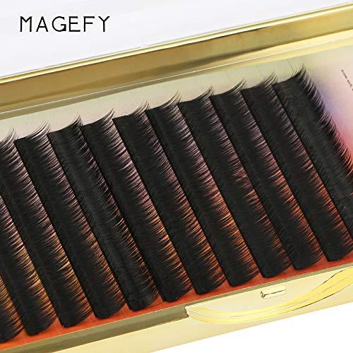 Künstliche Wimpern,Rifuli® Veredelung von falschen Wimpern Wave 0.05 C Black Silk Eyelashes Extension Magnetic Eyelashes Falsche Wimpern 3D Falsche Wimpern Wiederverwendbare
