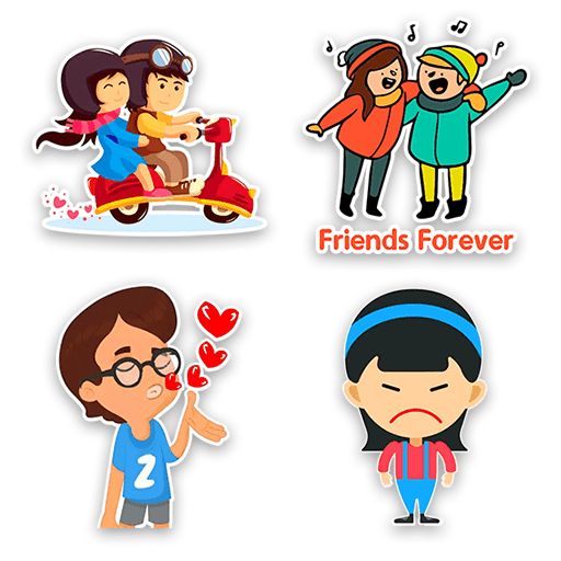 Sticker For WhatsApp Chat