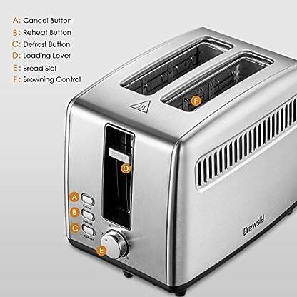 Automatik-Toaster-Brewsly-Toaster-mit-Langschlitz-Defrost-Funktion-Abnehmbarer-Krmelschublade-850-Watt-2-Scheiben-und-7-Brunungsstufen-Glatter-edelstahl-Silber-Energieklasse-A