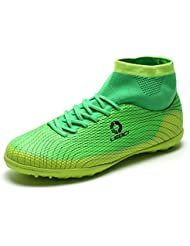 Aleader Unisex High Top Football Shoes Soccer Boots