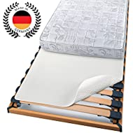 """Beautissu® Matratzen-Schoner BEAUTECT mit Noppen 140x200 cm """"Made in Germany"""" Matratzen-Unterlage rutschfest - Öko-Tex"""