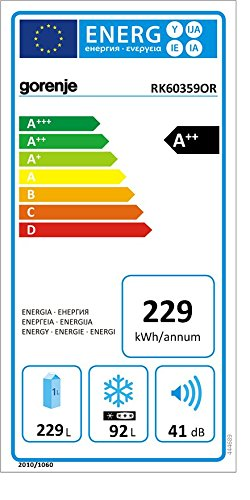 Gorenje RK 60359 OR Kühl-Gefrier-Kombination - 2
