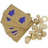 Goula - Percepción táctil y asociación 2, juego educativo (Diset 51209)