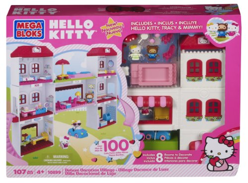 Mega Bloks Hello Kitty Deluxe Vacation Villag 10899 (Us Post Office)