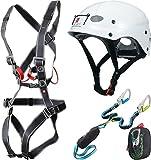 Ocun Klettersteig-Sparpaket Via Ferrata Bodyguard Pail Klettersteig Set