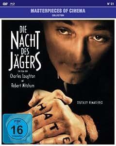 Die Nacht des Jägers (+DVD) (Masterpieces of Cinem [Import allemand]