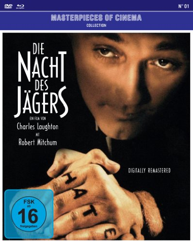 Bild von Die Nacht des Jägers - Masterpieces of Cinema Collection N° 01 (+ DVD) [Blu-ray]