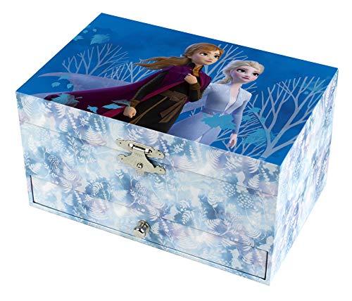 *Trousselier Schmuckschatulle Disney Die Eiskönigin mit Musik, ideal als Geschenk für Mädchen*