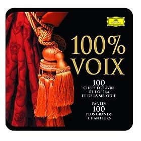 100 Pour 100 Voix - Les 100 Chefs-D'Oeuvre De L'Op�ra Et De La M�lodie