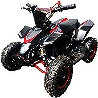 Madox Deluxe mini quad de 49cc y 6 pulgadas para niños